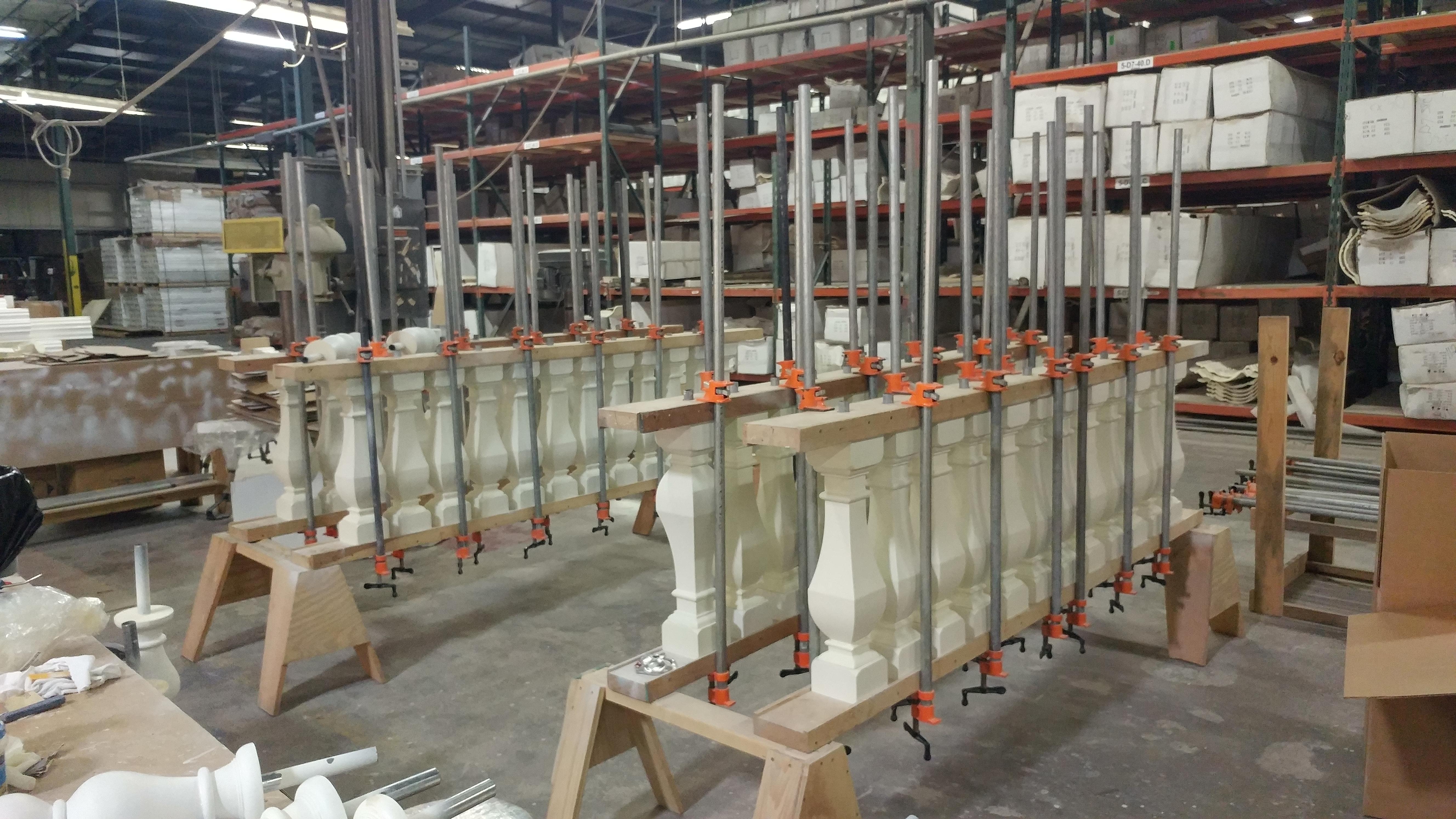 Behind The Scenes Ekena Millwork Arcadian Baluster