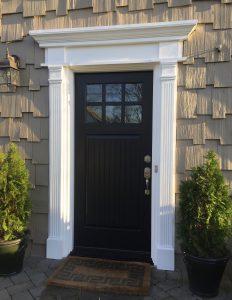 Fypon Crosshead Amp Pilaster Front Door Remodel