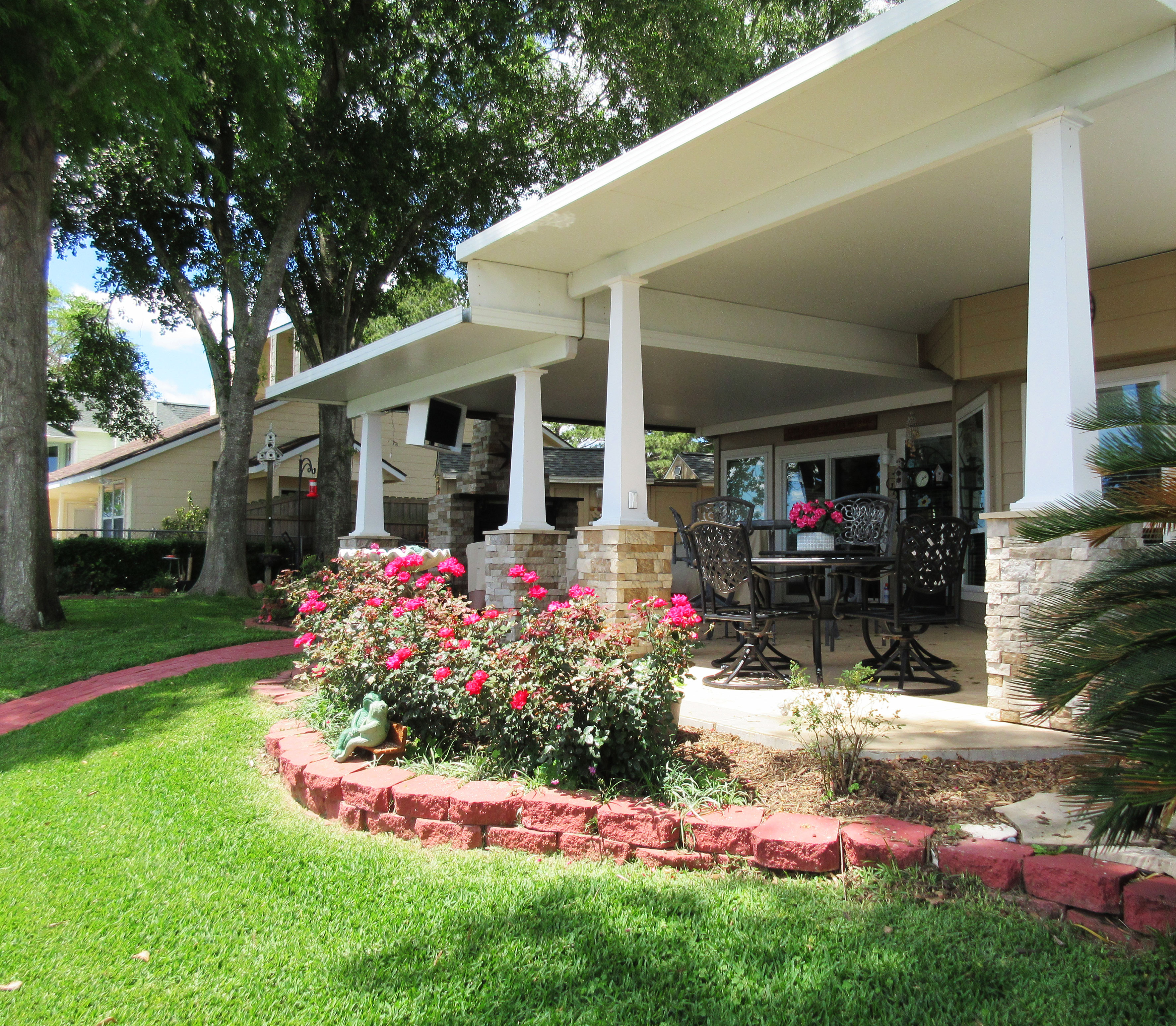 Classic Craftsman Series Columns For Texas Home
