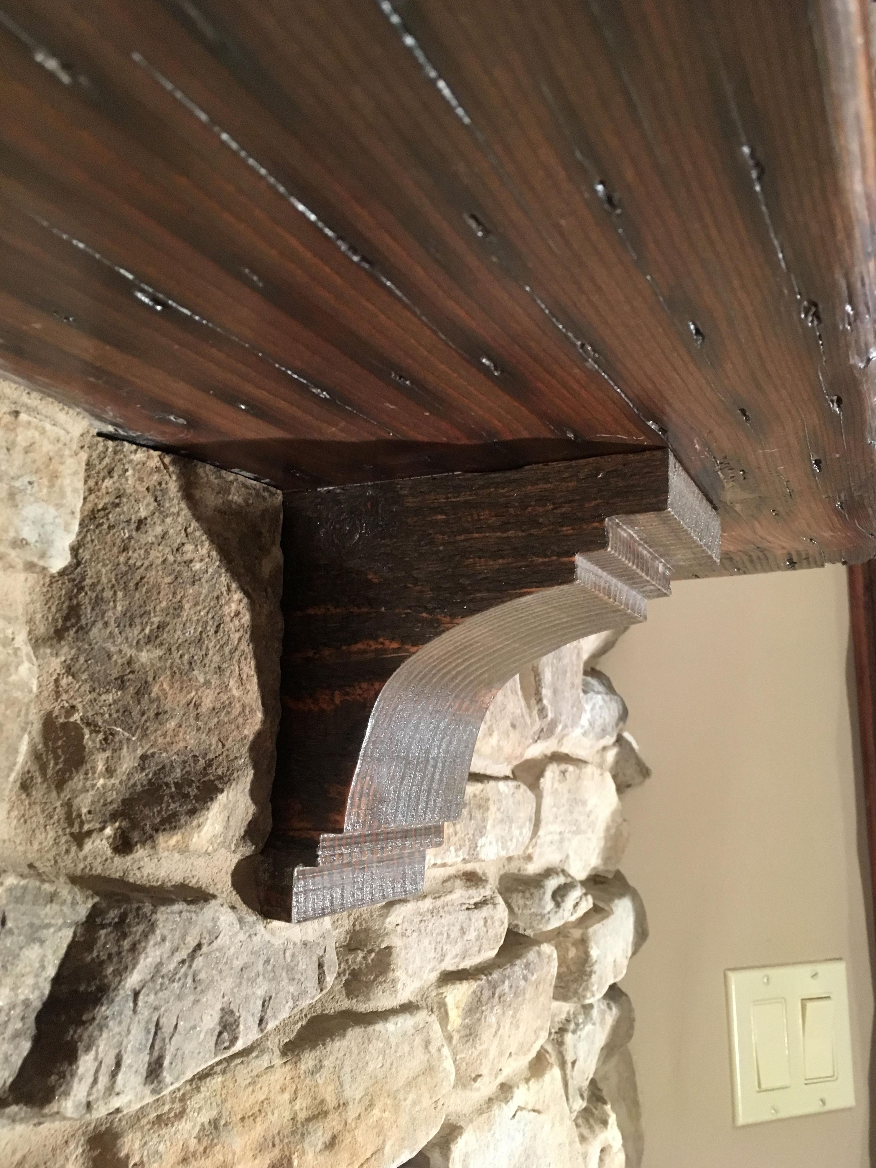 Ekena Millwork Pescadero Wood Corbel Architectural Depot