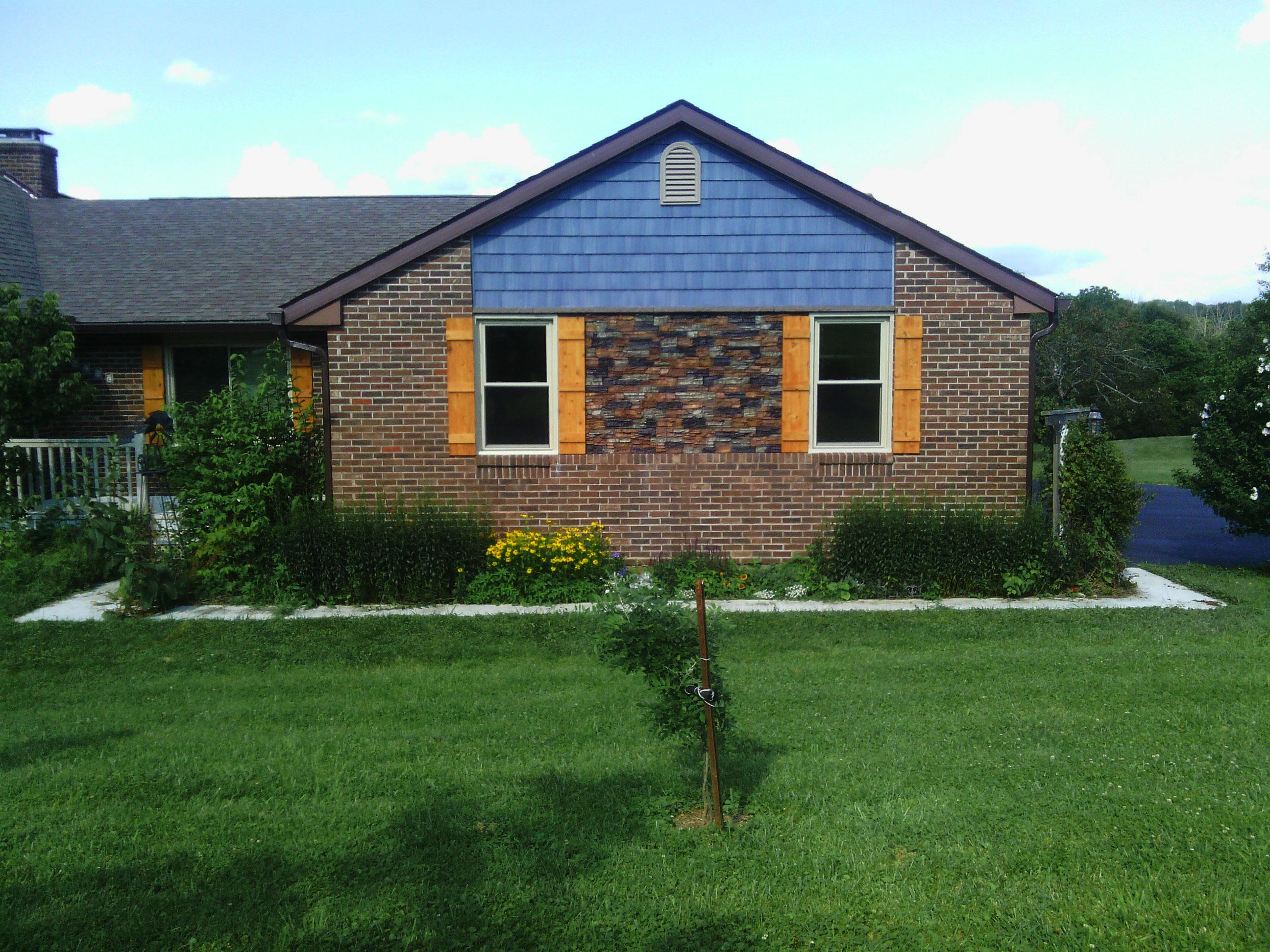 Endurathane Stacked Stone Panels On Ohio Home