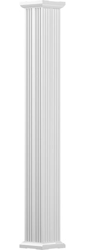 Square Fluted Columns