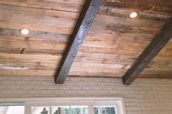 Faux Wood Beams Foam Ceiling