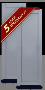 Single Panel ShuttersComposite Flat Panel Shutters   House Shutters   Shop DIY. Flat Panel Vinyl Shutters. Home Design Ideas