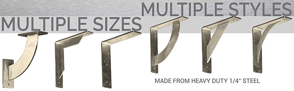 Metal Bracket Sizes