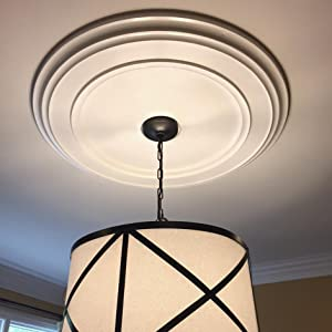 Ceiling Medallions Adds Instant Value