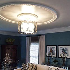 Ceiling Rings and Ceiling Medallions