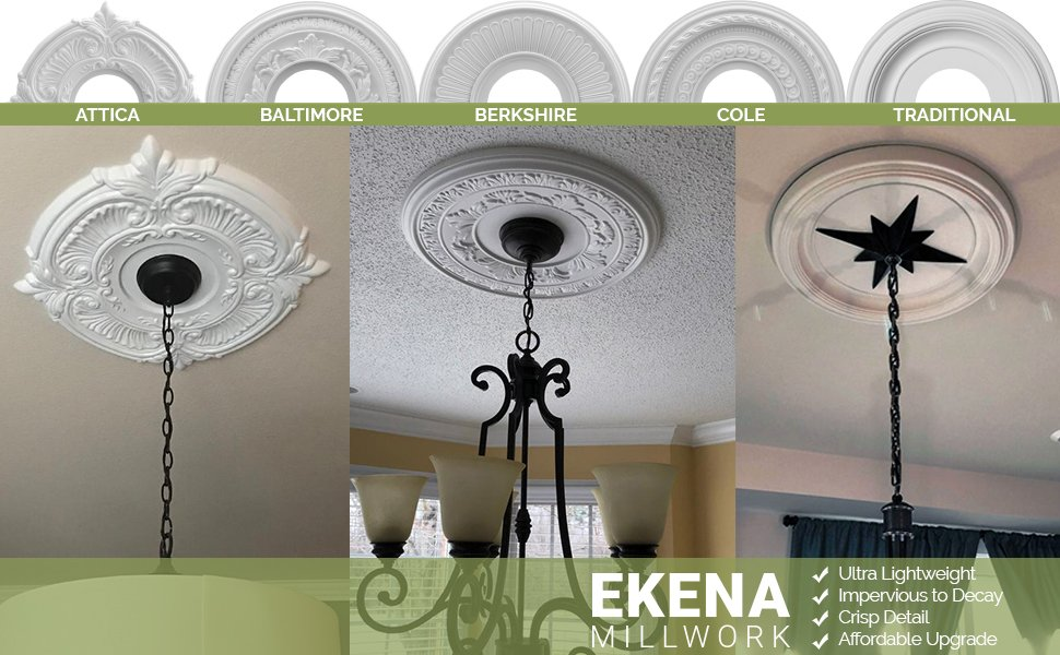 Ceiling Medallion Styles