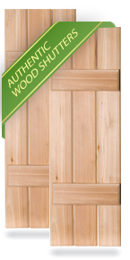 Wood Shutters - Exterior Wood Shutters | Shop DIY