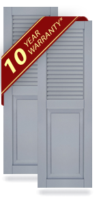 Composite Wood Shutters - House Shutters | Shop DIY